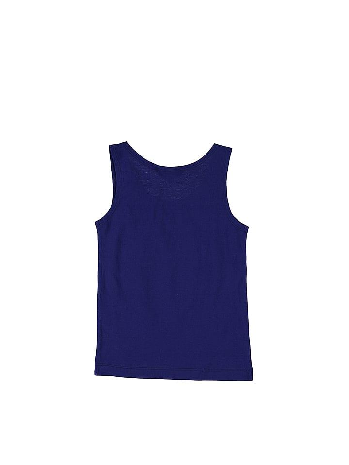Lilou Secret Top in Blau