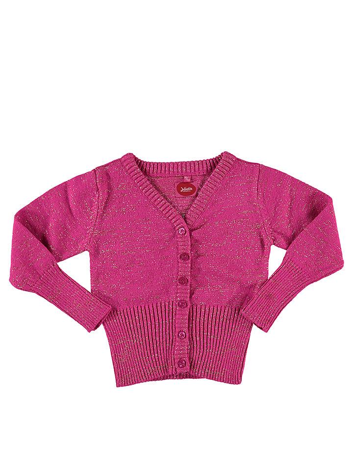 Little Miss Juliette Cardigan in Pink