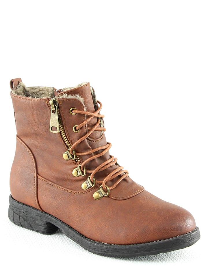 La Bottine Souriante Boots in Kamel - 65% 8D9sW