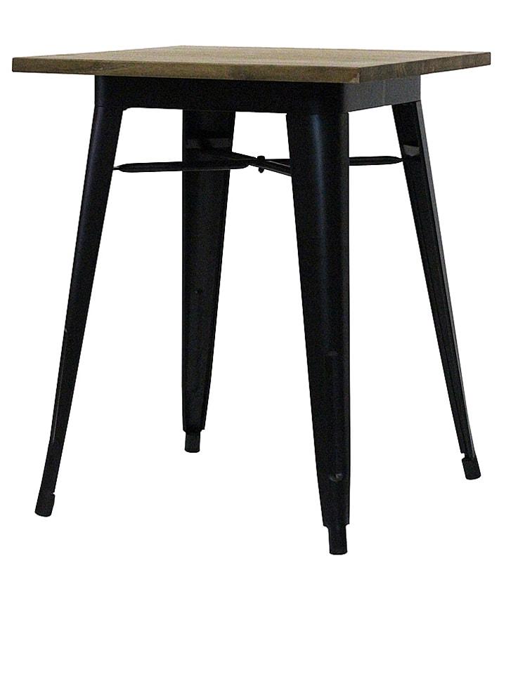 Esstisch Schwarzbraun redcartel esstisch tucker in schwarz braun b 60 x h 75 x t