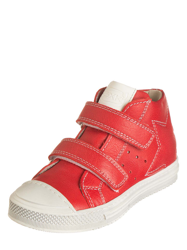 EXK Leder-Sneakers in Rot