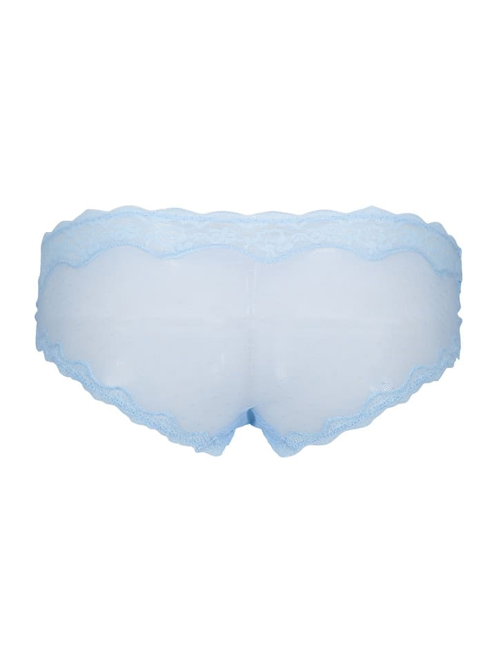 Heidi Klum Intimates Panty New Mesh in Hellblau