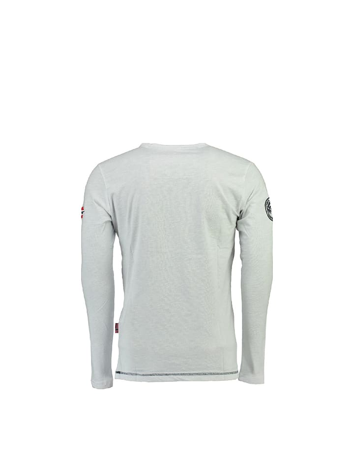 Geographical Norway Shirt Jerabati in Weiß