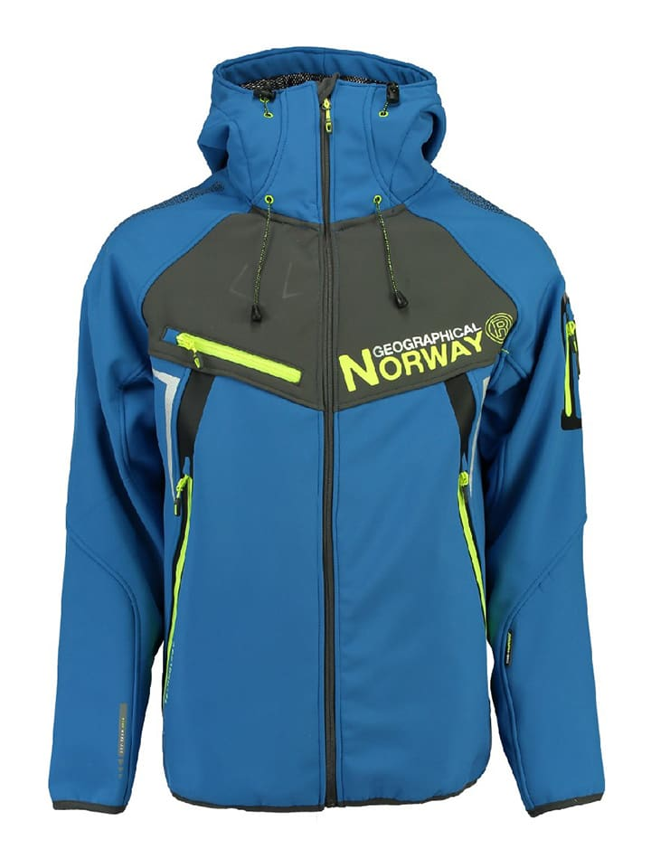 Geographical Norway Softshelljacke Toscou in Blau