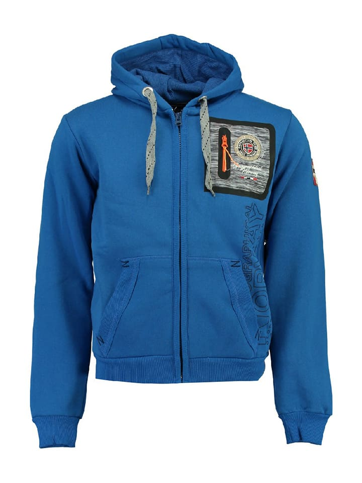 Geographical Norway Sweatjacke Fitor in Blau