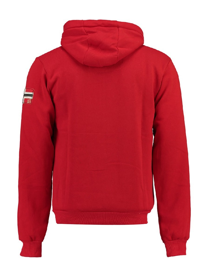 "Geographical Norway Sweatjacke ""Fitor"" in Rot"