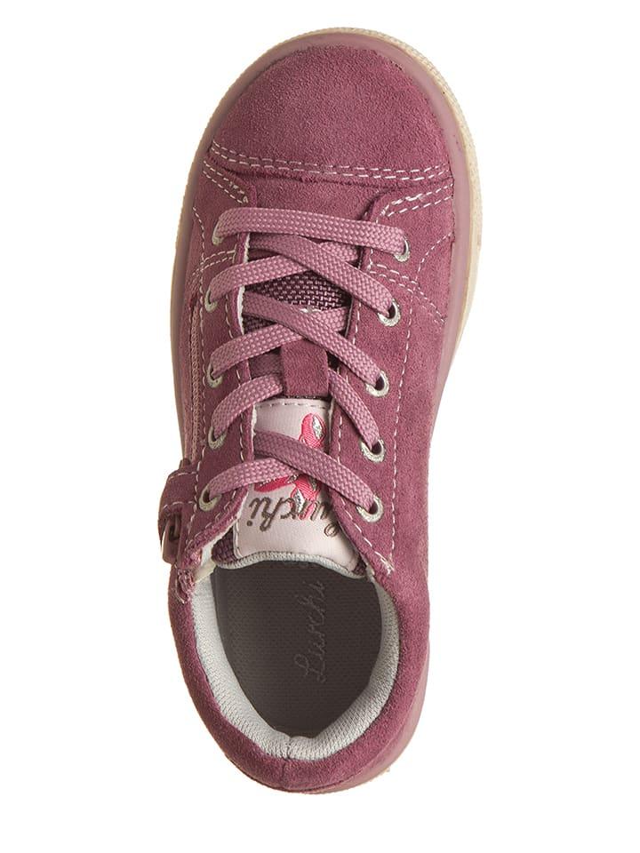Lurchi Leder-Sneakers Salina in Rosa