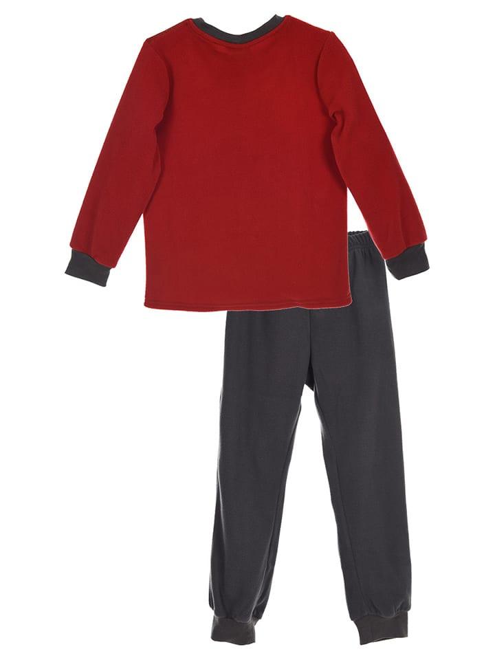 Disney Cars Pyjama in Rot/ Anthrazit