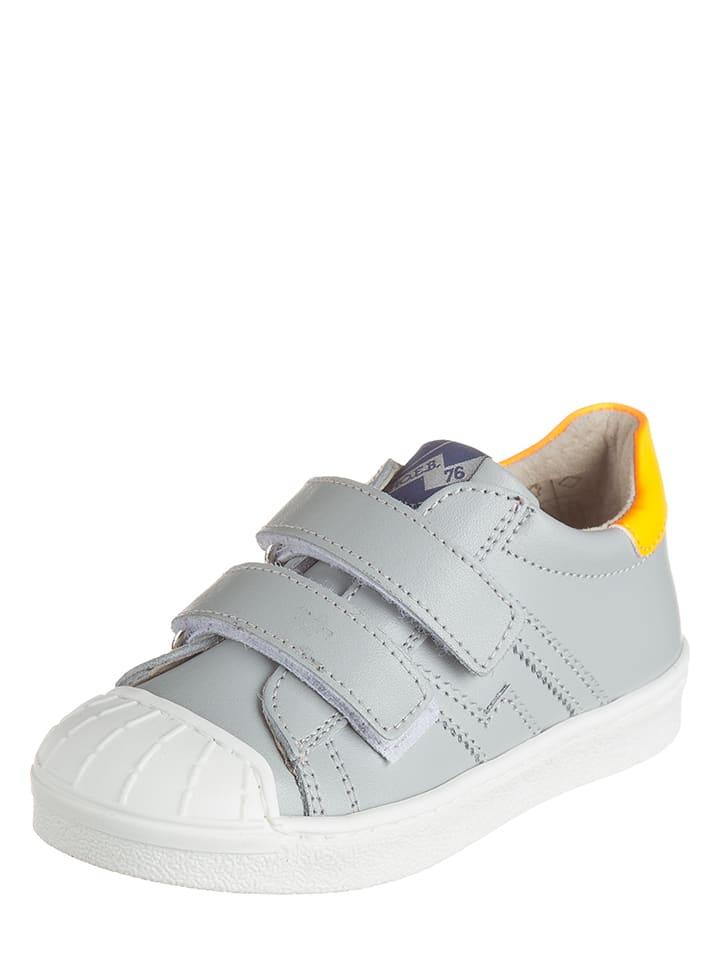 3,0 scream Leder-Sneakers in Hellgrau - 60%