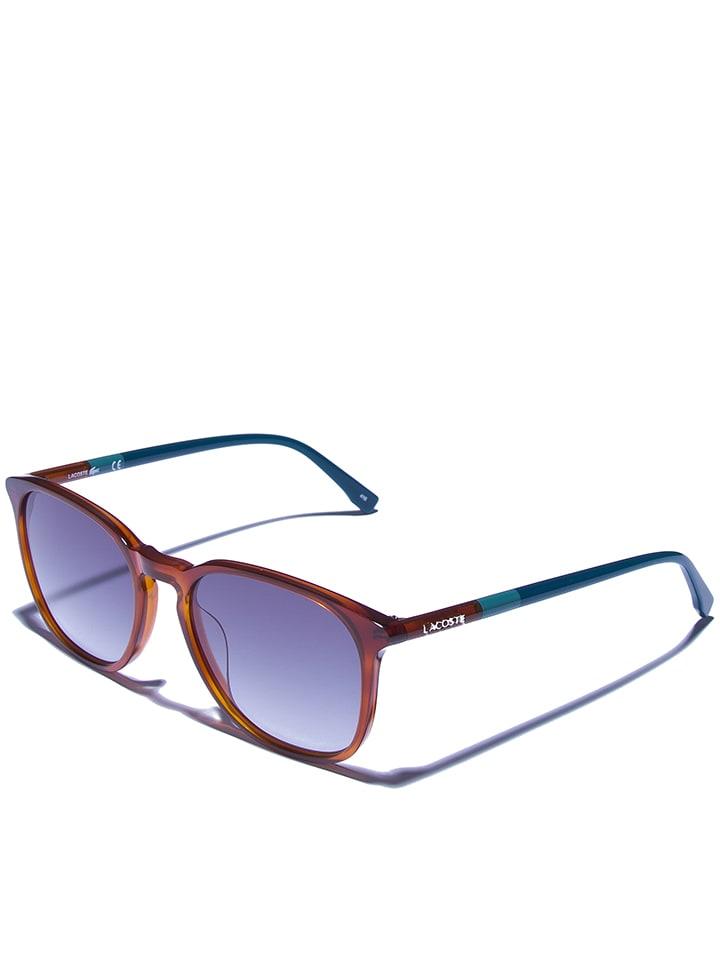 Lacoste Damen-Sonnenbrille in Braun - 66% ohrKD3