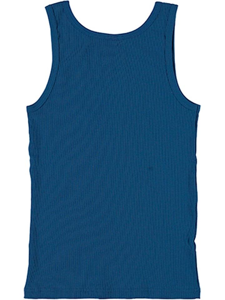 Schiesser Unterhemd in Blau