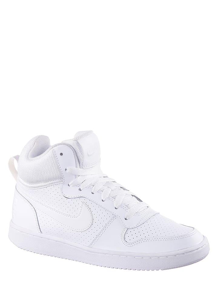 Nike Leder-Sneakers in Weiß