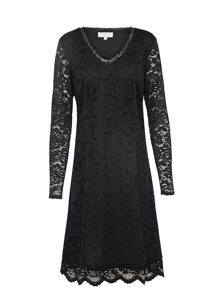Cream Kleid in Schwarz