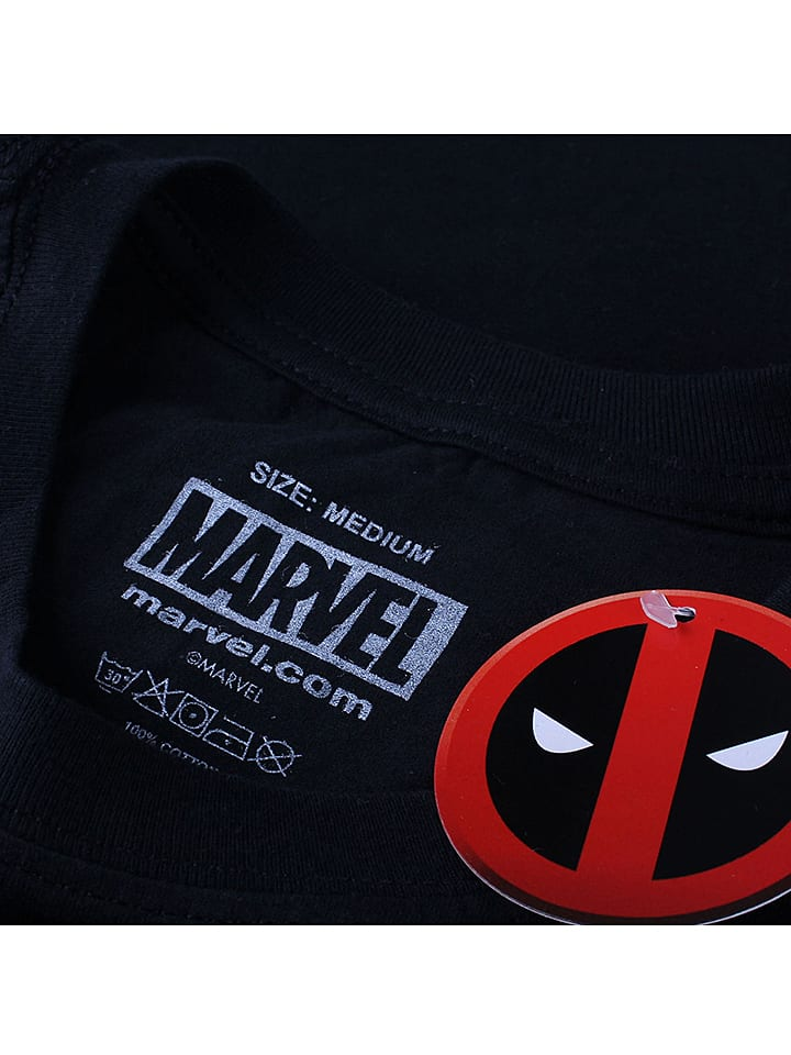 Marvel Longsleeve in Schwarz