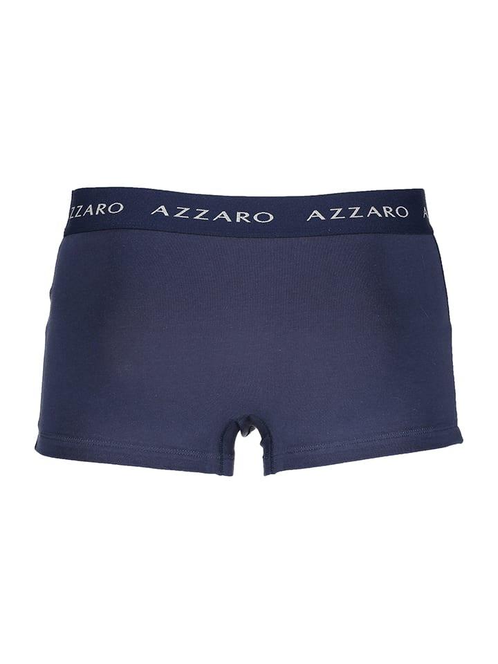 Azzaro Underwear 3er-Set: Boxershorts in Grau/ Blau