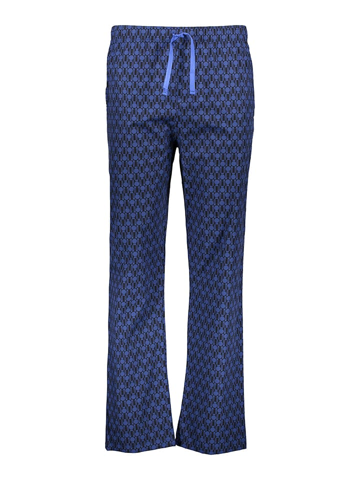 Azzaro Underwear Pyjama in Dunkelblau