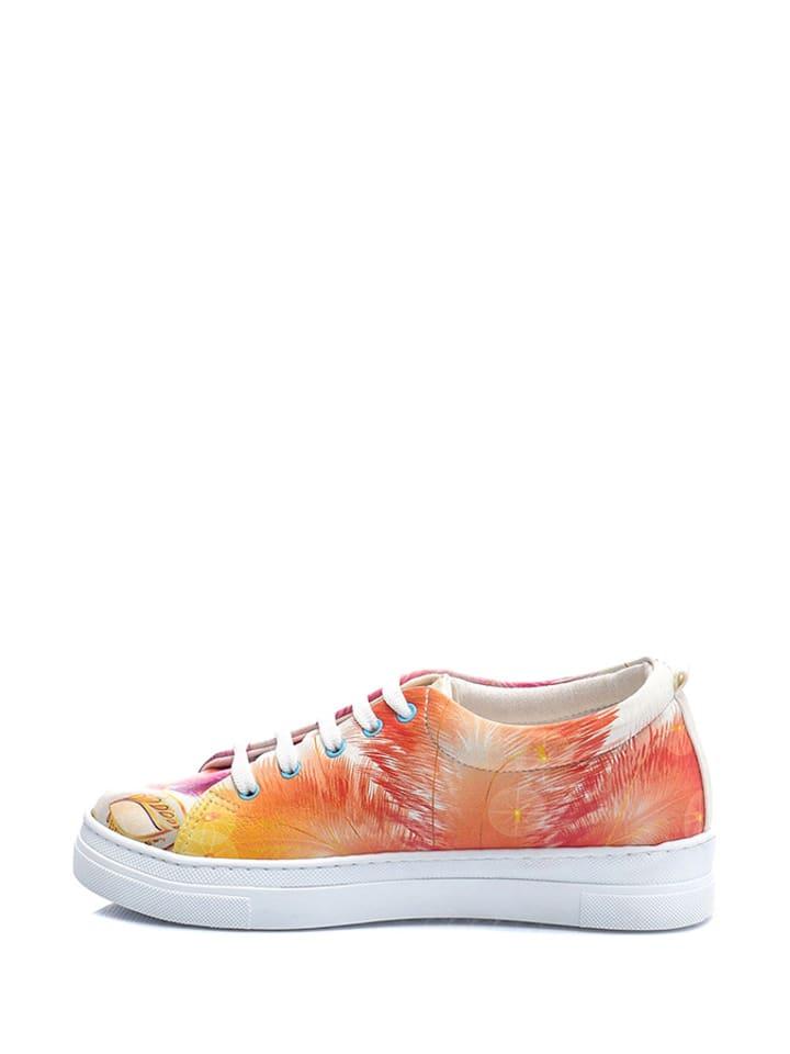 Streetfly Sneakers in Orange/ Pink