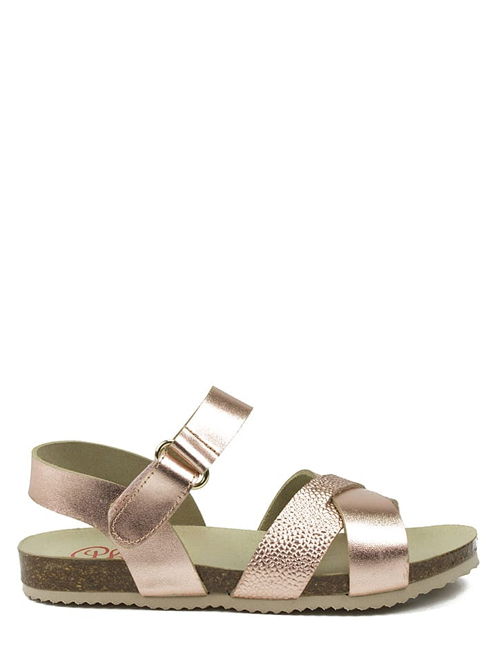 Abril kids Leder-Sandalen in Rosa