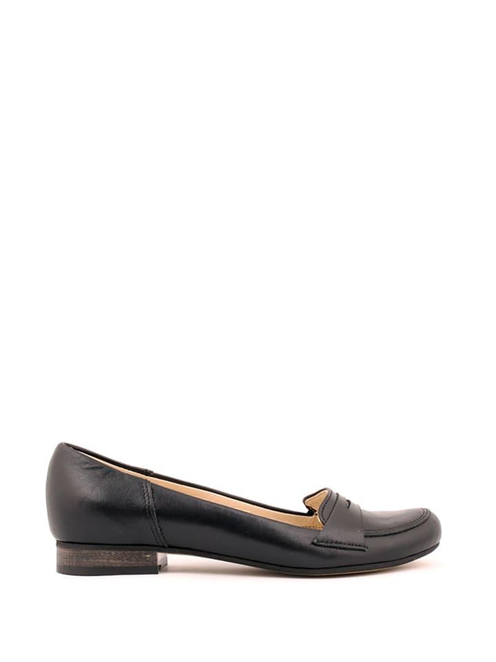 Zapato Leder-Ballerinas in Schwarz - 65% rXN7EbL