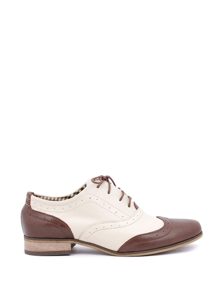 Zapato Leder-Schnürschuhe in Rosa - 47% btVGqJQ