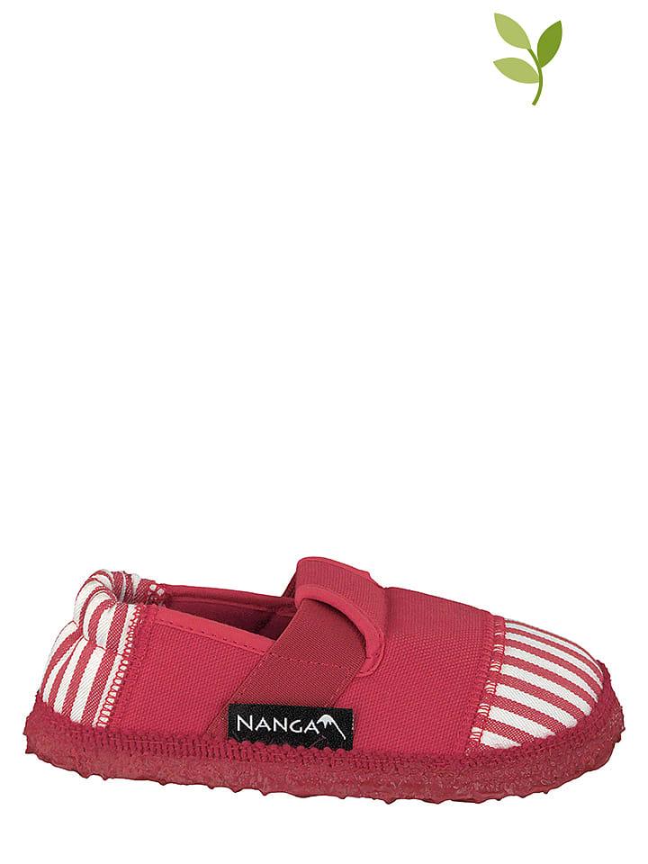 NANGA Hausschuhe Sandstrand in Rot