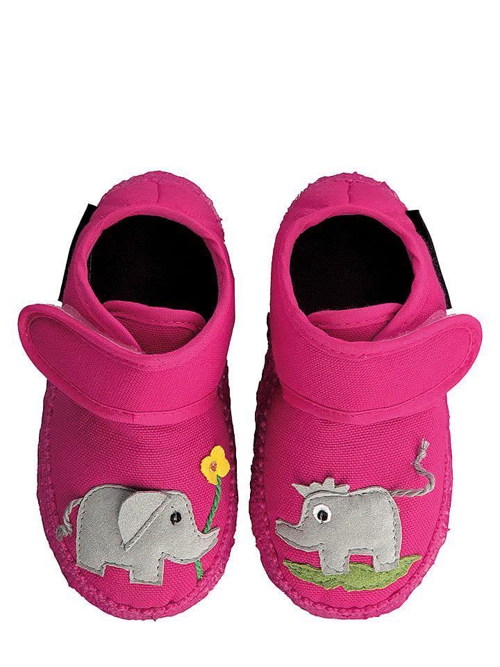 NANGA Hausschuhe Dumbo in Pink