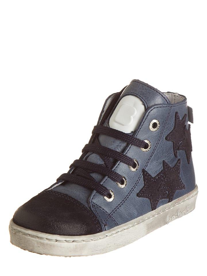 BO-BELL Leder-Sneakers in Dunkelblau - 58% G90pF