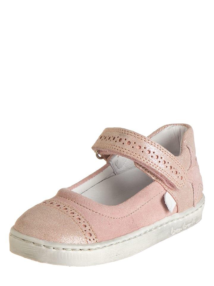 BO-BELL Leder-Spangenballerinas in Pink - 62% NzCfa