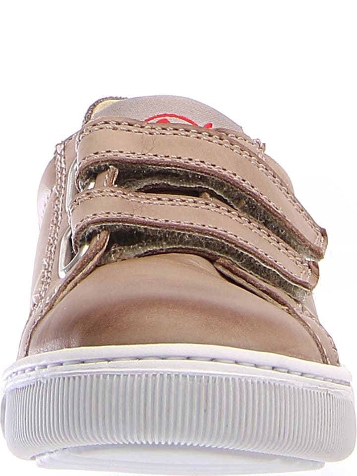 Naturino Leder-Sneakers Caleb in Beige