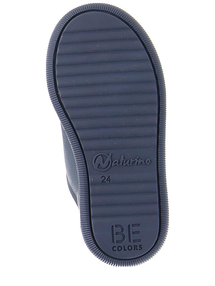 Naturino Leder-Sneakers William in Dunkelblau