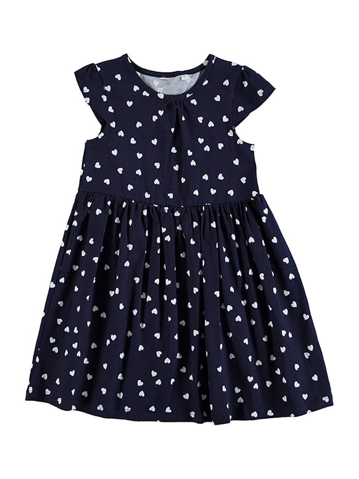Topo Kleid in Dunkelblau