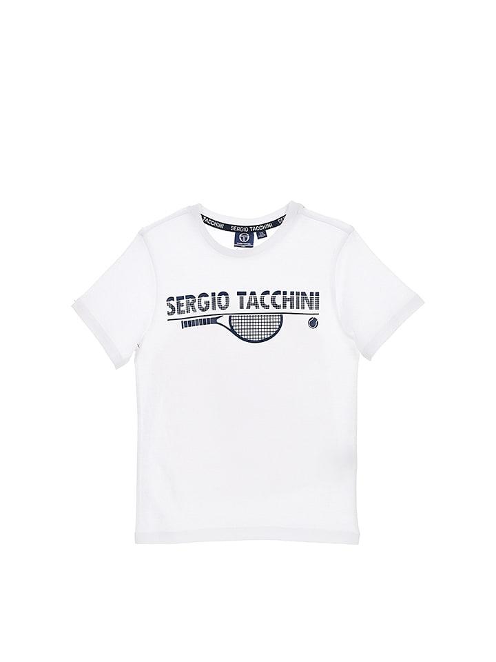 Sergio Tacchini Shirt in Weiß