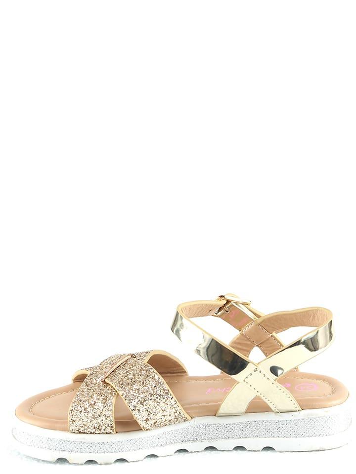Doremi Sandalen in Gold