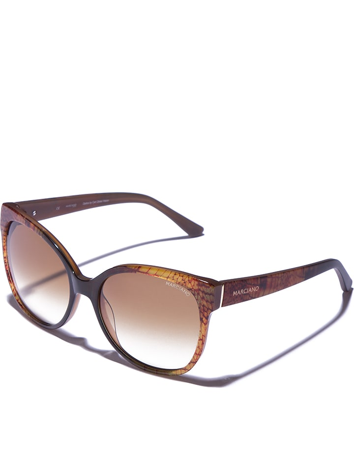 Marciano by Guess Damen-Sonnenbrille in Braun - 61% PgcFO