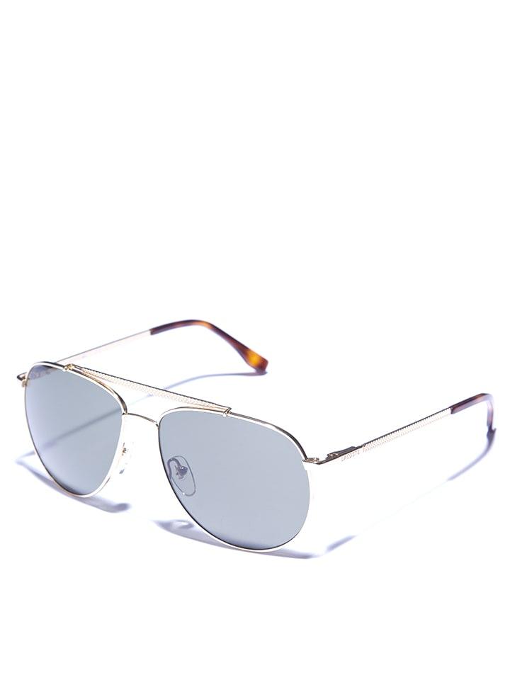 Lacoste - Unisex-Sonnenbrille in Gold/ Dunkelgrün | limango Outlet