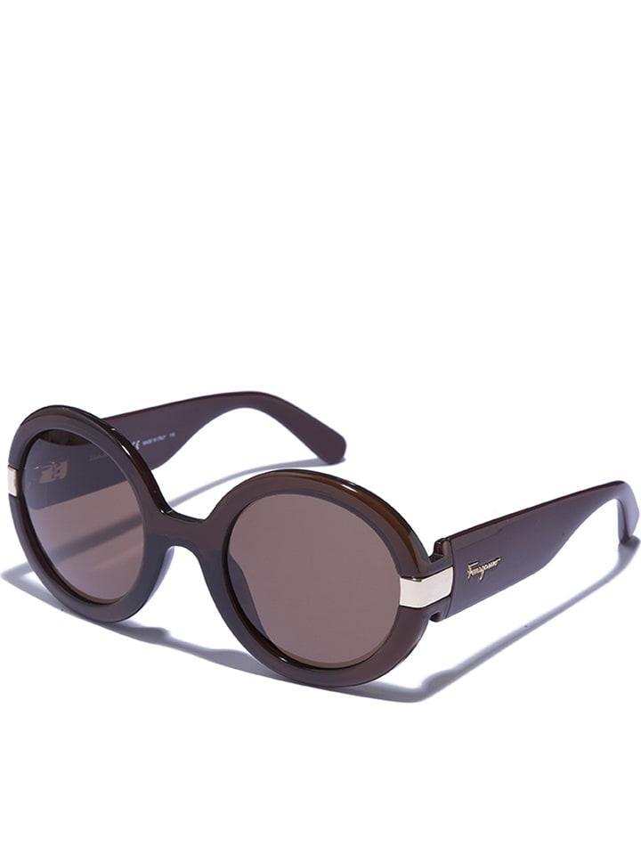 Salvatore Ferragamo Damen-Sonnenbrille in Rot - 73% jPJ3z