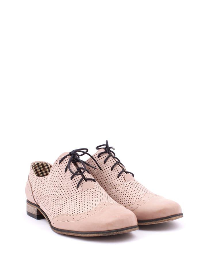 Zapato Leder-Schnürschuhe in Rosa - 63% peUugMRUw