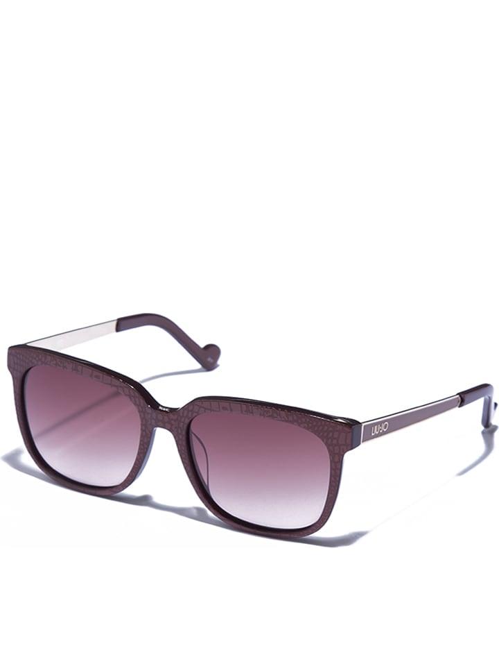 Liu Jo Damen-Sonnenbrille in Braun-Gold - 70% HCqiG