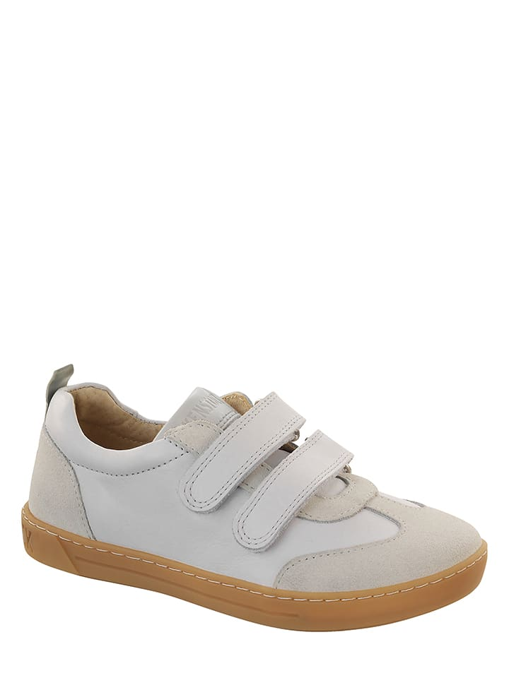 Birkenstock Leder-Sneakers Davao in Weiß - Weite N - 60% IWQ2y
