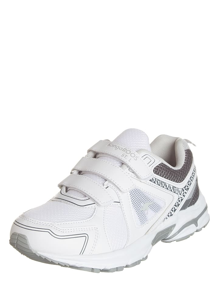 "Kangaroos Sportschoenen ""KR-Run 5"" wit"