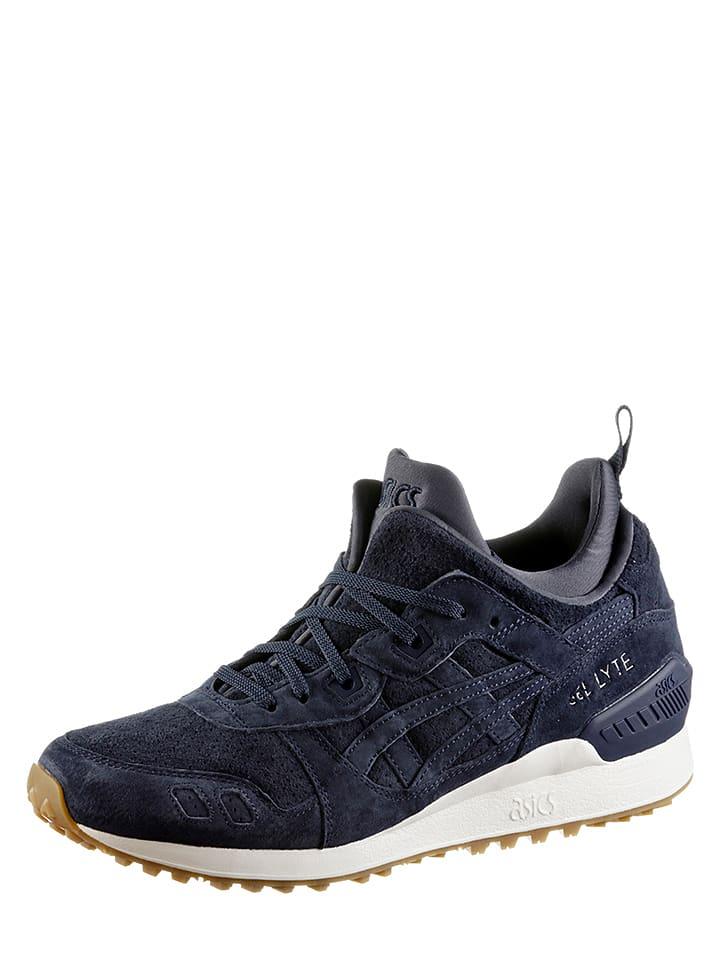 asics sneakers donkerblauw