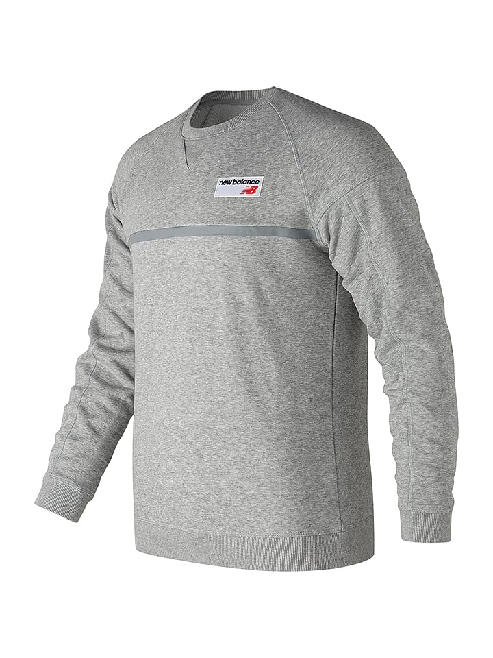 new balance hoodie grijs