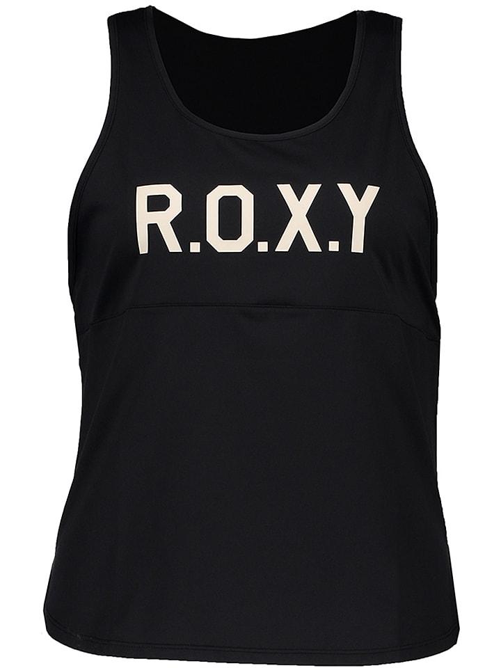 """Roxy Top funcyjny """"Shiny Way"""" w kolorze czarnym"""