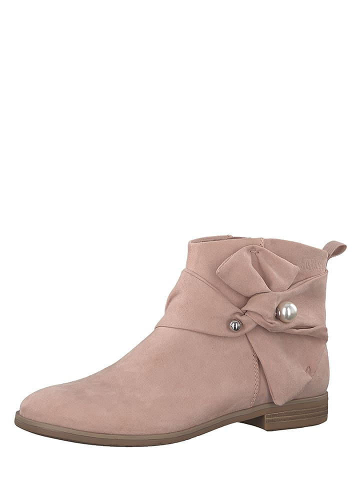 S. Oliver - Boots - rose   Outlet limango b4f3fab4dd87