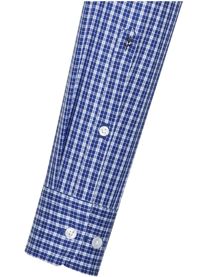 Seidensticker Hemd - Modern fit - in Blau/ Wei