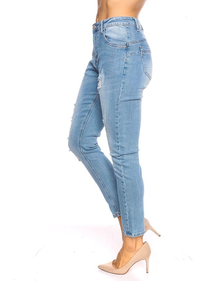 "Scarlet Jones Jeans ""Lou"" - Casual fit - in Blau"
