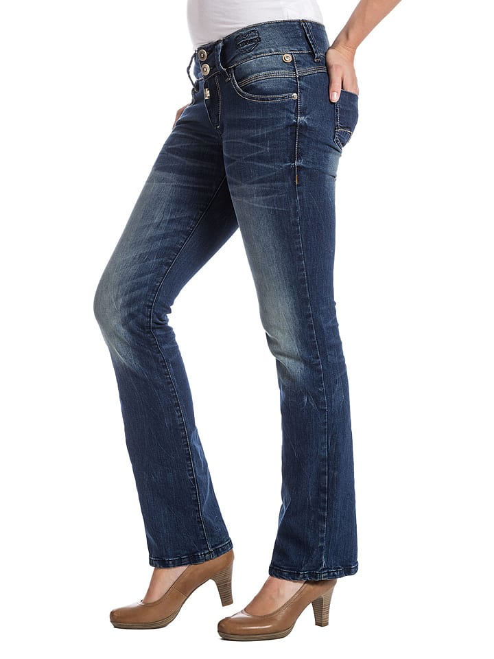 "Timezone Jeans ""Greta"" - Slim fit - in Blau"