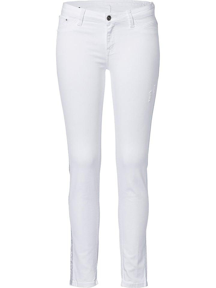 """Cross Jeans Jeans """"Adriana"""" - Skinny fit - in Wei"""