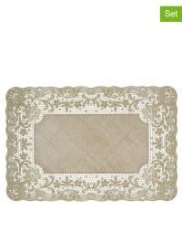 Outlet nappes pas cher chez limango jusqu 39 70 for Set de table dore