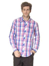MARINEPOOL Hemd in rosa/ blau/ weiß
